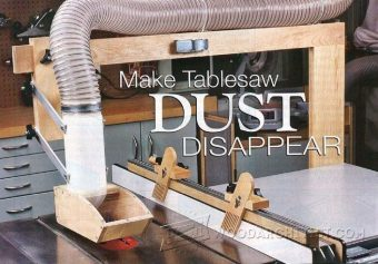 1744-DIY Table Saw Dust Collector