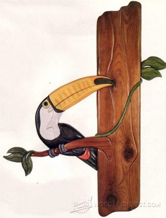1759-Toucan - Intarsia Patterns