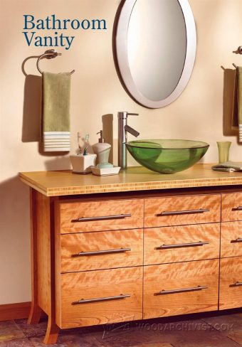 1763-Bathroom Vanity Plans