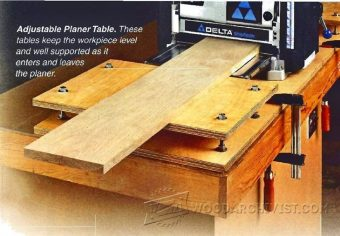 1766-Planer Outfeed Table