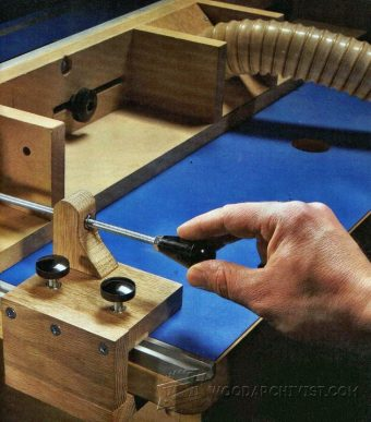 1779-Router Table Fence Micro Adjuster