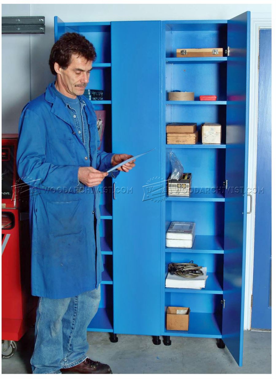 Tall Storage Cabinet Plans