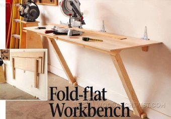 1788-Fold Down Workbench Plans