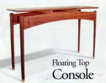1790-Console Table Plans