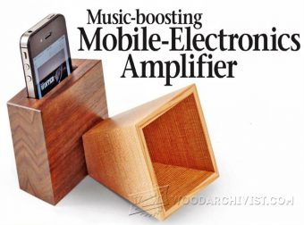 1797-DIY Iphone Amplifier