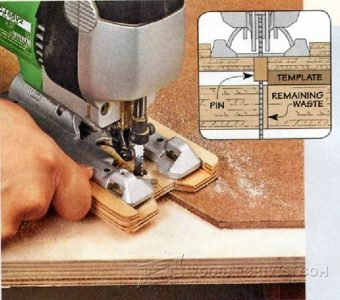 1800-Template Cutting with Jig Saw