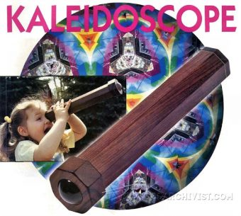 1801-Wooden Kaleidoscope Plans