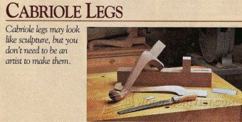 1803-Making Cabriole Legs