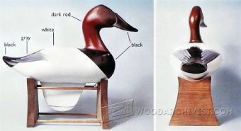 1808-Carving Duck Decoys
