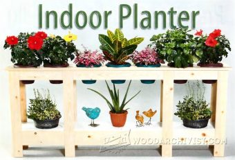 1811-Indoor Planter Plans