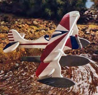 1814-Wooden Toy - Floatplane