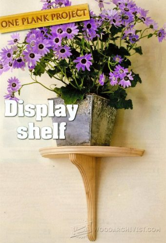 1816-Display Shelves Plans