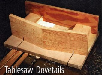1821-Table Saw Dovetail Jig