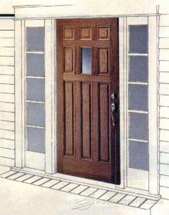 1831-Making Raised Panel Entry Doors