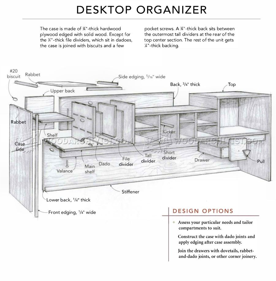 Woodworking Plans Desktop Organizer New Woodworking Plans