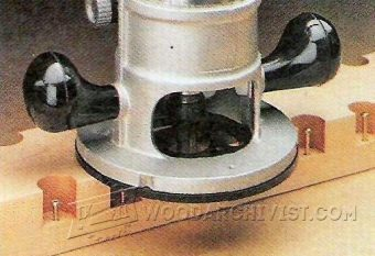 1837-Router Bit Depth Gauge