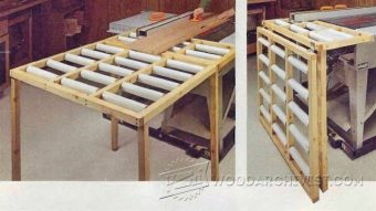 1841-Table Saw Outfeed Table Plans