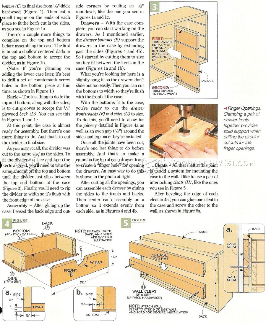 Dremel Storage Case Plans • WoodArchivist