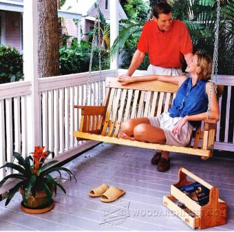 1843-DIY Porch Swing