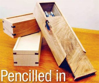1849-Wooden Pencil Case Plans