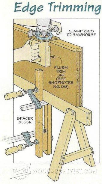 1854-Flush Trim Router Jig