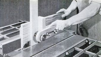 1858-Table Saw Tenon Jig