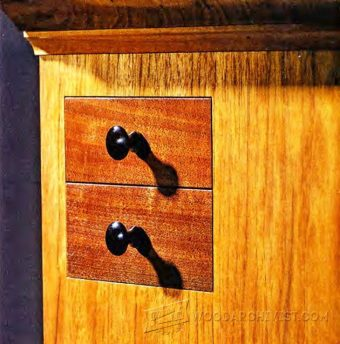1863-Secret  Drawer - Hidden Compartment Furniture