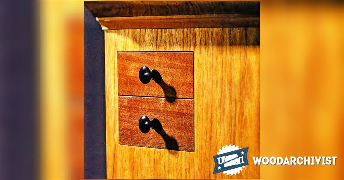 Secret drawer hidden compartment furniture woodarchivist for Furniture w hidden compartments