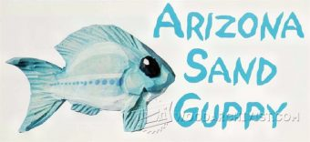 1865-Carving Arizona Sand Guppy - Wood Carving Patterns