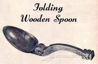 1870-Making Folding Wooden Spoon