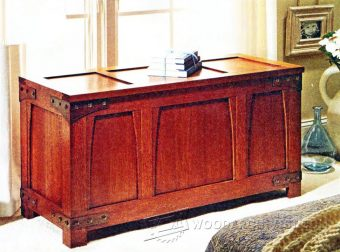 1878-Craftsman Style Chest Plans