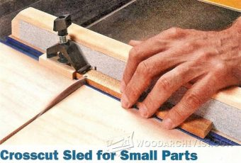 1894-Small Parts Crosscut Sled Plans