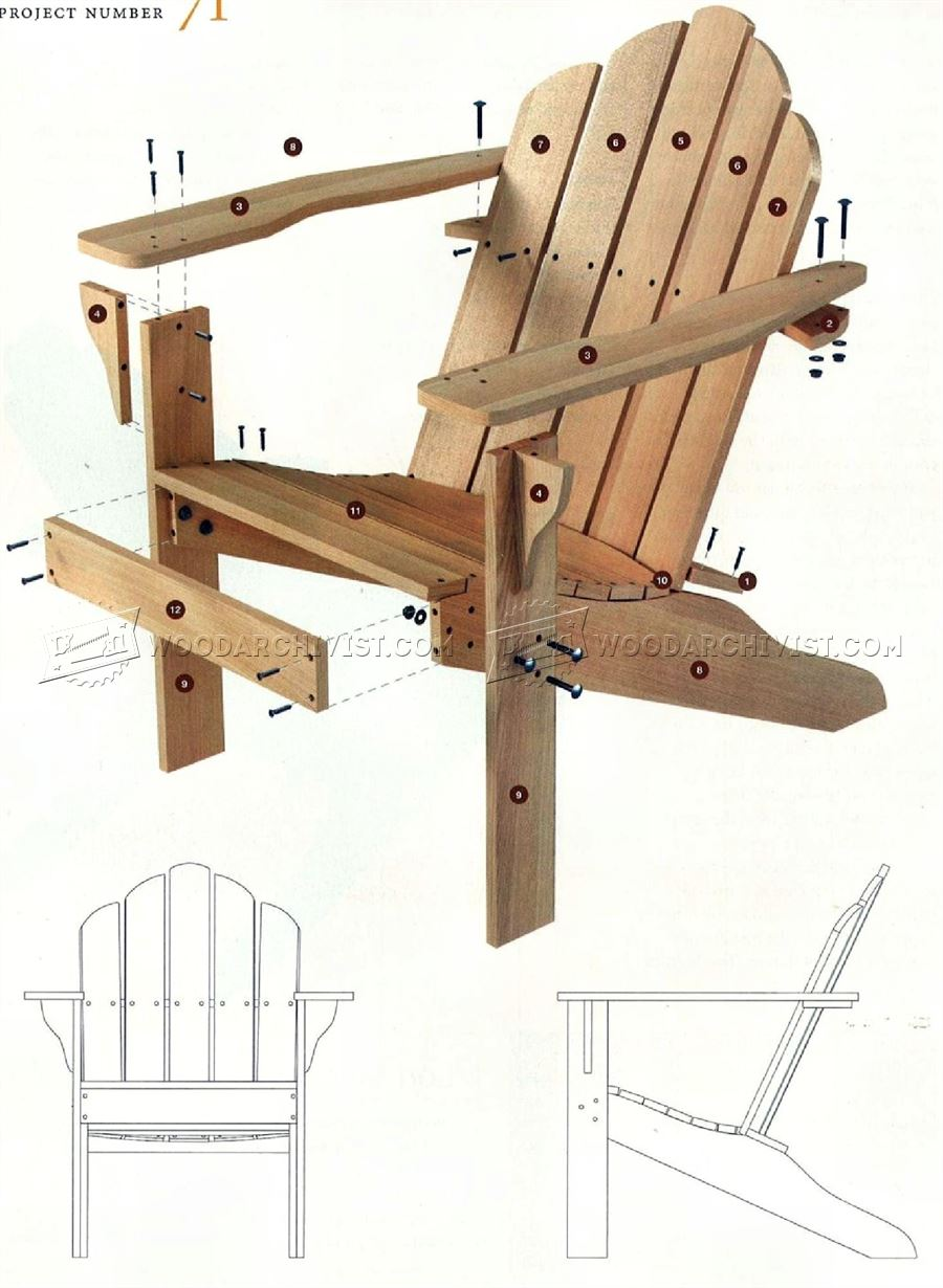how to build outdoor wood chairs diy woodworking plans