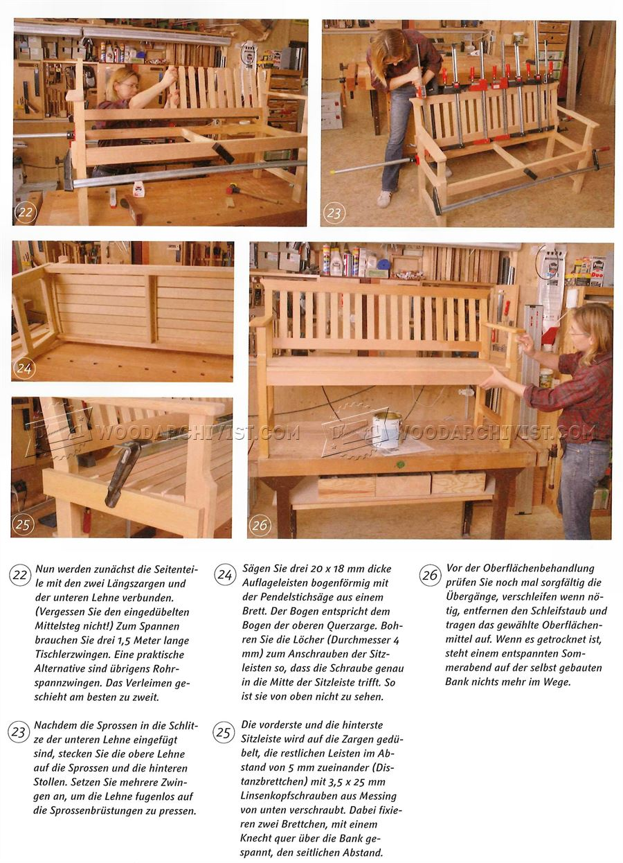 Genial ... Outdoor Wood Bench Plans ...