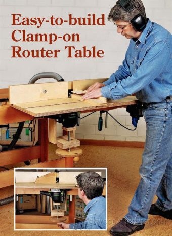 1910-Workbench Router Table Plans