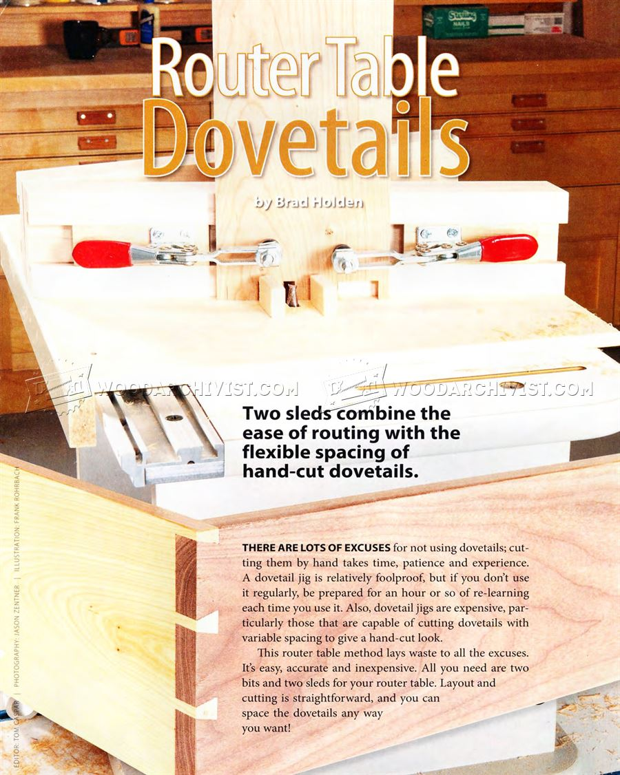 Router Table Dovetail