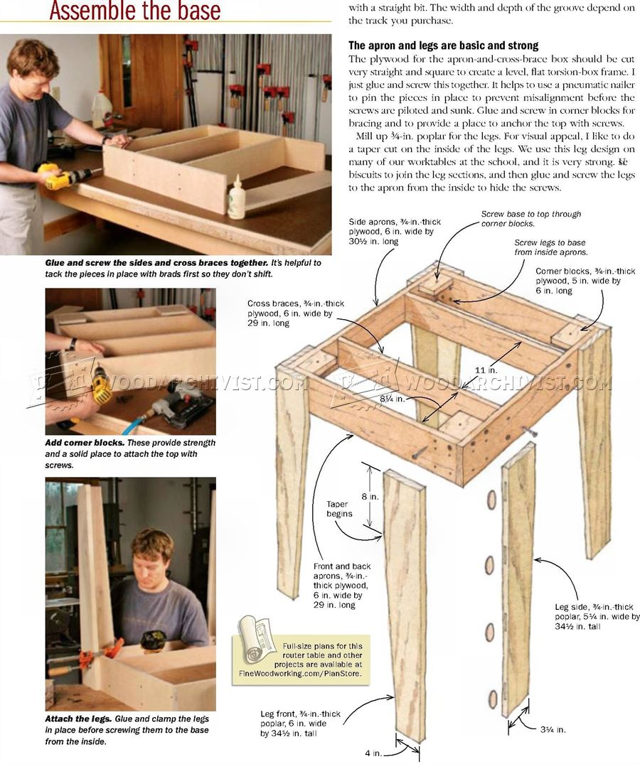 How to build router table vip for How to make a router table