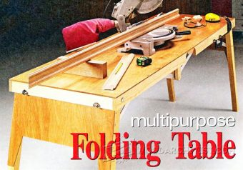 1950-Folding Work Table Plans