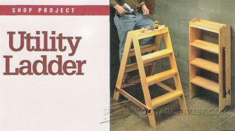 1957-Wooden Step Ladder Plans