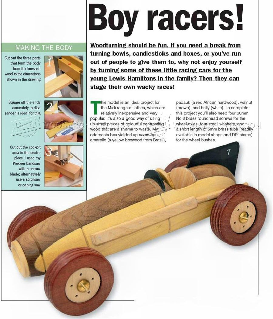 Toy Car Plans : Diy wood toys plans do it your self