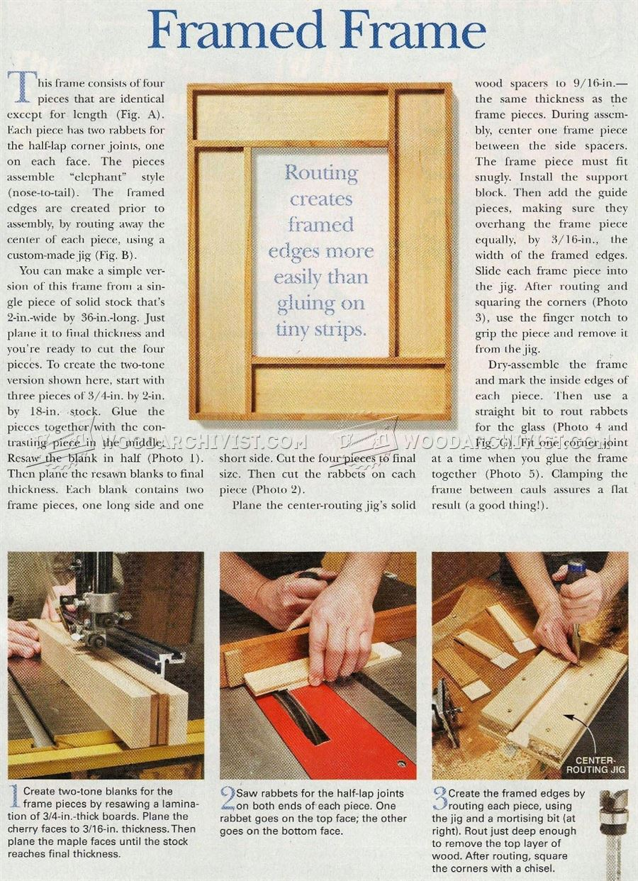 Making Picture Frames