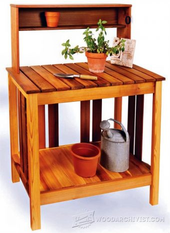 1970-Potting Bench Plans