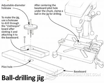 1973-Ball Drilling Jig