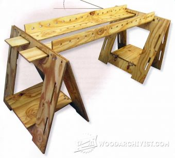 1979-Folding Sawhorse Plan