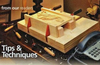 1990-Tabletop Carving Vise Plans