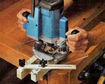 1991-Plunge Router Mortising Jig