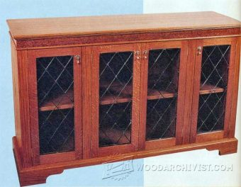 1992-Glazed Sideboard Plans