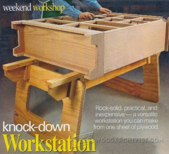 2000-Knock Down Workstation Plans