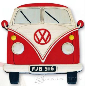 2006-VW Camper - Intarsia Projects