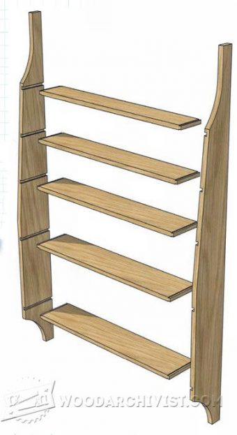 2011-Shaker Shelving Unit Plans